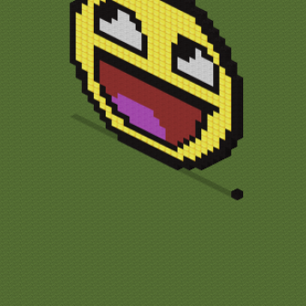 "Screenshot for Pixel-Art""(Happy Face)"""