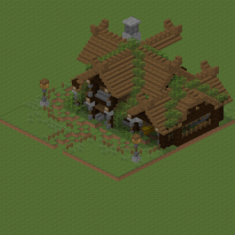 Screenshot for Small medieval house