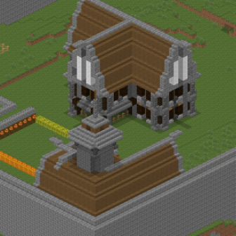 Schemes for minecraft  Beautiful buildings with pictures and plan to